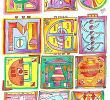 color and shapes study by terezadelpilar~ art & architecture