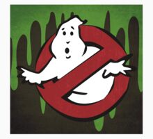 """I ain't afraid of no ghost"" Ghostbusters Stay Puft Mashmallow Man Green Slime Slimer Kids Clothes"