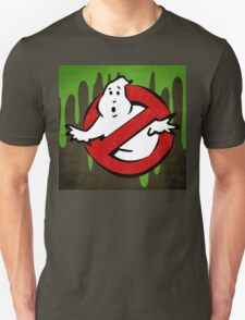 """""""I ain't afraid of no ghost"""" Ghostbusters Stay Puft Mashmallow Man Green Slime Slimer T-Shirt"""