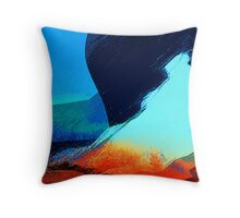 caught looking at the landscape... Throw Pillow
