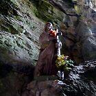 The Madonna of Gorge de Galamus by HELUA