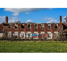 the abandoned asylum Photographic Print