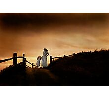 """Storm Warning""- Yahats Oregon, Coast Photographic Print"