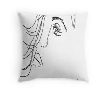 constriction Throw Pillow