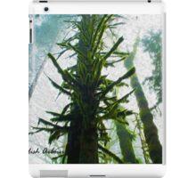 Misty Canopy (Oil Paint Effect) iPad Case/Skin