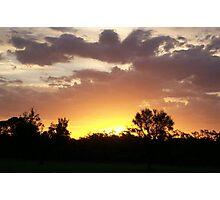 CQ Sunset Photographic Print