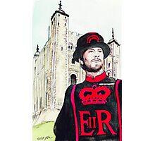 London Tower Guard Photographic Print