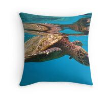 Sea tortoise Throw Pillow