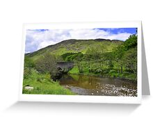 Low Highlands of Scotland. Greeting Card