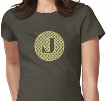 J Spontanious Womens Fitted T-Shirt