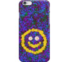 Happy Smiley Face Bright Dandelion Flowers  iPhone Case/Skin