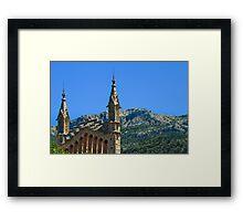 Soller Church Towers Framed Print
