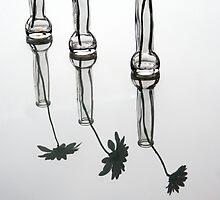 three flowers by Anne Seltmann