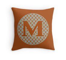 M Spontanious Throw Pillow