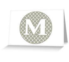 M Spontanious Greeting Card