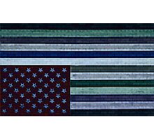 bricks on a flag Photographic Print