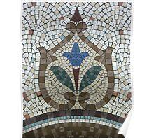 Mosaic Beauty Poster
