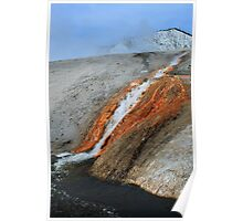 Yellowstone mineral water Poster