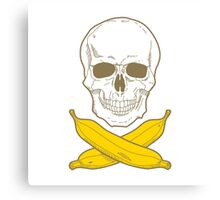 Banana Pirate Canvas Print