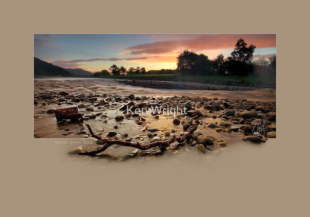 Pastel Dawn Rush by Ken Wright