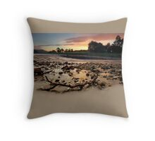 Pastel Dawn Rush Throw Pillow