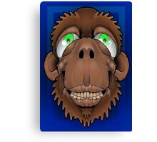 Silly Monkey Canvas Print