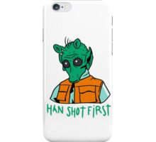Greedo iPhone Case/Skin