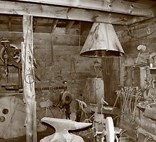 Blacksmiths shop in Idaho City, Idaho by rnrphoto98