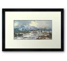 Winter Wonderland - The Eternal, Magical Winter… Framed Print