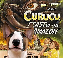 Bull Terrier Art - Curucu Movie Poster by NobilityDogs
