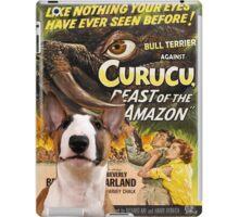 Bull Terrier Art - Curucu Movie Poster iPad Case/Skin