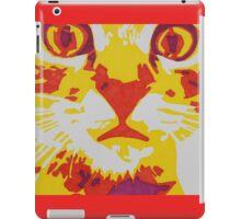 Wide Eyed Pussy Cat iPad Case/Skin