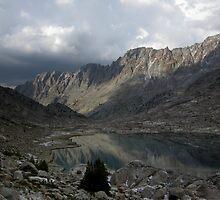 Sapphire Lake After Storm, Evolution Basin by Rebecca Sowards-Emmerd