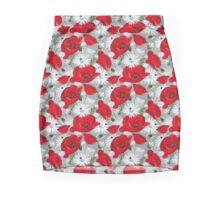 Romantic Floral Mini Skirt