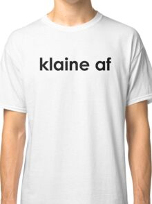 Klaine af (black) Classic T-Shirt