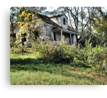 The Old Home Place Canvas Print