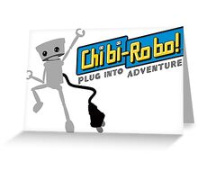 Chibi-Robo : Plug into Adventure  Greeting Card