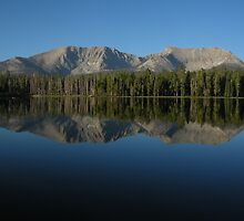 Morning at Moraine Lake by Rebecca Sowards-Emmerd