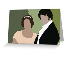 Lizzy and Darcy Greeting Card