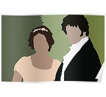 Lizzy and Darcy Poster