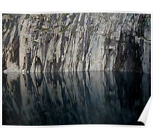 Precipice Lake, High Sierra  Trail, Sequoia National Park Poster