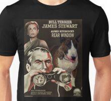 Bull Terrier Art - Rear Window Movie Poster Unisex T-Shirt