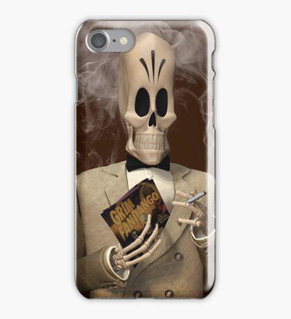 Manny Calavera -  Grim Fandango iPhone Case/Skin