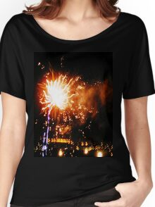 Fireworks Night Women's Relaxed Fit T-Shirt