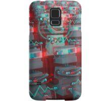 Retro 3D Robot Cinema Samsung Galaxy Case/Skin