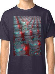 Retro 3D Robot Cinema Classic T-Shirt