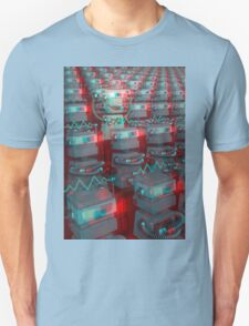 Retro 3D Robot Cinema T-Shirt