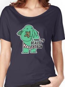 Beauty Fhtagn Women's Relaxed Fit T-Shirt