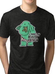 Beauty Fhtagn Tri-blend T-Shirt