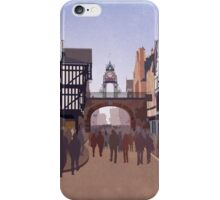 Chester - The Eastgate Clock iPhone Case/Skin